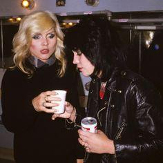 Debbie Harry and Joan Jett by Brad Elterman
