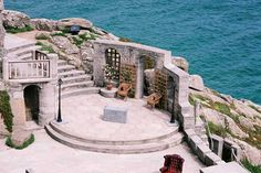 The Minack Theatre, open-air theatre,  Cornwall, England