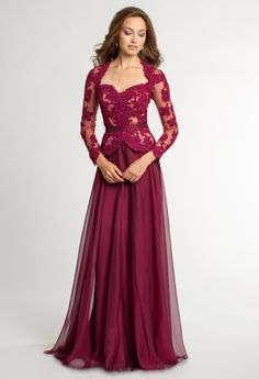 Beautiful evening dress.. I would wear this for my sister\'s ...