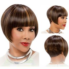 Style: Straight Lace Wig Type: None Lace Wigs Cap Size: Medium Wigs Type: Natural Wigs Length: Short Can Be Permed: No Net Weight: N/A Material: Synthetic Hair Item Type: Wig