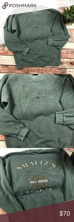 Vintage Harley Davidson Vintage Harley Davidson sweater in good vintage condition  size medium Harley-Davidson Sweaters Crewneck