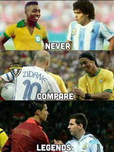 Funny Football Memes, Funny School Memes, Sports Memes, Football Is Life, Football S, Messi Vs Ronaldo, Lionel Messi, Cristiano Ronaldo, Argentina Football