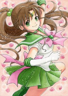 kino makoto and sailor jupiter (bishoujo senshi sailor moon) drawn by kinoto (moc) - Danbooru Sailor Jupiter, Sailor Moon Art, Sailor Moon Crystal, Sailor Venus, Sailor Neptune, Sailor Mars, Gatomon, Pandora Hearts, Sailor Mercury