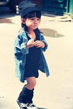 Cool kid street style