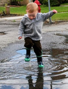 Jumping in Puddles by Shelly Norton