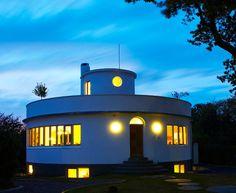 Carl Frederick Nielsen's Round House outside Copenhagen