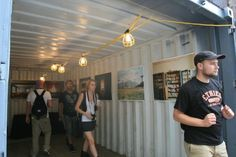 Showcasing Photography in Shipping Containers