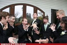 really funny wedding pic