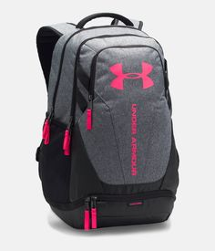 Shop the Under Armour Hustle Backpack online today at DICK'S Sporting Goods. Find a lower price somewhere else? Mochila Under Armour, Under Armour Rucksack, Cute Backpacks For School, Girl Backpacks, Leather Backpacks, Backpack For Teens, Backpack Online, Mens Gym Bag, 0 Bag