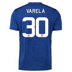 Manchester United 16-17 Antonio Valencia 30 Borte Drakt Kortermet.  http://www.fotballpanett.com/manchester-united-16-17-antonio-valencia-30-borte-drakt-kortermet.  #fotballdrakter