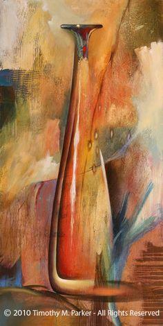 Modern Still Life Painting - Artist Tim Parker