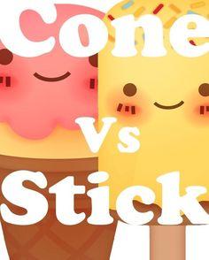 Cones vs. Sticks