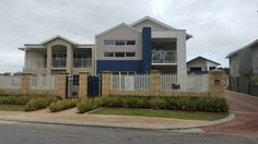 Bassendean - 3036 – Custom designed home on a narrow block front elevation