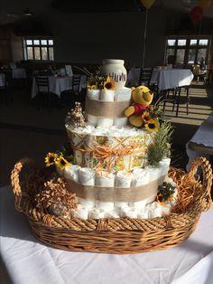 Winnie The Pooh Diaper Cake 100 Acre Woods