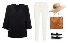 """""""May31"""" by fancywan on Polyvore featuring Acne Studios, BA&SH, Prada Sport, Ralph Lauren and Maison Michel"""