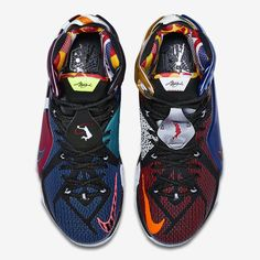 "A History Of Nike Featured On The ""What The"" LeBron 12 Page 2 of 3 - SneakerNews.com"