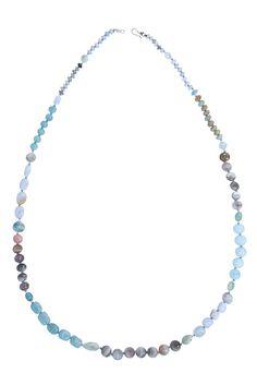 Aqua Mix Statement Layering Necklace - Chan Luu