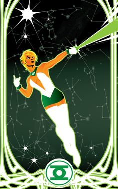 Arisia by Tom Kelly Dc Comics Women, Dc Comics Art, Comics Girls, Green Lantern Comics, Avenger, Hq Dc, Dc Comics Characters, Dc Heroes, Comic Book Covers