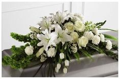 Create Your Own Casket Spray from Calvary Flower Shop in Los Angeles