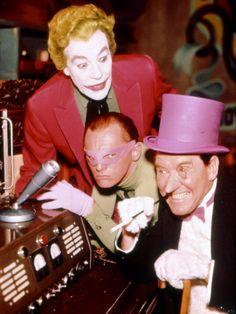 Joker, Riddler, Penguin