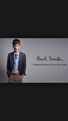 8bacec5298892 Paul Smith Paul Smith, Branding Design, Rooster, Men Fashion, Gentleman,  Police