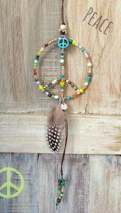 No beads for simplicity; make into necklace Metal Jewelry, Diy Jewelry, Beaded Jewelry, Jewelery, Handmade Jewelry, Jewelry Making, Mode Hippie, Hippie Art, Hippie Style