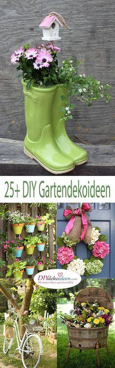 DIY Gartendeko selber machen – 25+ Dekoideen
