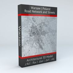 Warsaw Road Network and Streets | 3D model