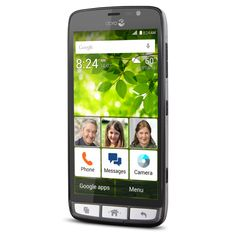 Dear Savvy Senior, Can you recommend some smartphones that are specifically designed for seniors? My mother is interested in upgra. Old Cell Phones, Free Cell Phone, Buy Phones, Cheap Cell Phone Service, Compare Cell Phone Plans, Best Mobile Phone, Mobile Phones, Phone Jokes, Cell Phones For Seniors
