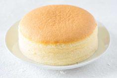綺麗なスフレチーズケーキ
