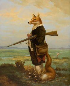 Daniel Carranza Hunted Hunter 1997