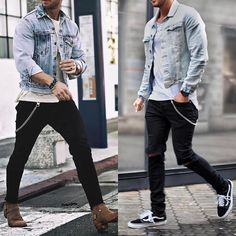"""2,700 mentions J'aime, 36 commentaires - Mensfashion ▪️Street ▪️Style (@mensfashion_guide) sur Instagram : """"Left or right? Via @gentwithclassicstyle Follow @mensfashion_guide for more! By @magic_fox…"""""""