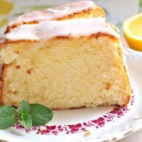Recept : Citronová babeta | ReceptyOnLine.cz - kuchařka, recepty a inspirace Vanilla Cake, Desserts, Food, Lemon, Tailgate Desserts, Deserts, Eten, Postres, Dessert