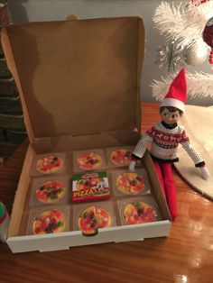 Who ordered pizza?! Elf on the Shelf ideas