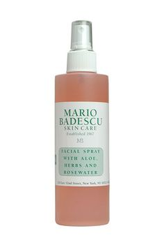 """... I store it in my fridge, and spritz right before leaving my apartment in the morning. I keep one on my desk for some midday hydration. And I keep one more, for good measure, in my gym bag for a post-workout treat."" — Taylor Bryant, beauty news editorMario Badescu Facial Spray with Aloe, Herbs and Rosewater, $7, available at Ulta.  #"