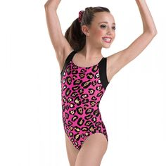 Leopard Print Gymnastics Leotard | Leotards And More
