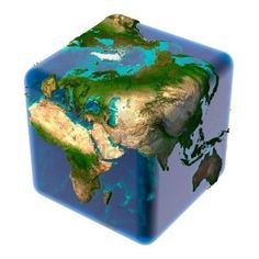 If the earth is a cube