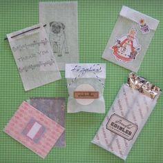 - DIY Dry Wax Paper Bags