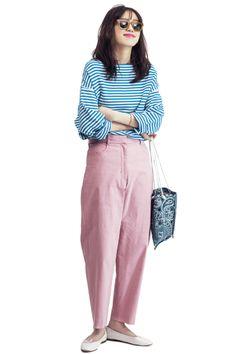 Daily Fashion, Love Fashion, Retro Fashion, Korean Fashion, Girl Fashion, Womens Fashion, Fashion Design, Fashion Pants, Fashion Outfits