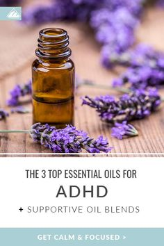 Essential oils are the perfect all-natural alternative for prescription medications. Discover the top essential oils for ADHD, how to use, and DIY recipes. Essential Oils For Thyroid, Essential Oils For Kids, Essential Oil Uses, Aromatherapy Benefits, Cedarwood Essential Oil, Organic Oil, Natural Treatments, Calming, Popular