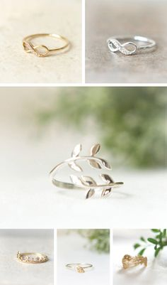 Charming rings in Wedding and bridal jewelry for the bride and the groom