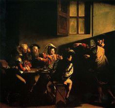 Караваджо. Призвание апостола Матфея. 1598.
