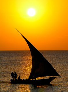 Sunsets in Zanzibar - worth experiencing!
