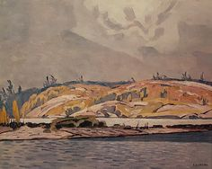 "Limited Edition A. J. Casson Lithograph ""The Channel at Britt"": Amazon.ca: Home & Kitchen"