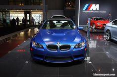 2013 M3 in Frozen Blue