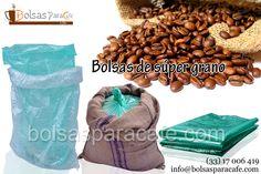 Las #Bolsas de #súper #grano es una línea fabricada esencialmente para el mercado del sector cafetalero, en la búsqueda de favorecer el buen estado el grano del café, aunque también puede utilizarse para cualquier tipo de grano, ya que estos interesantes sacos, se manufacturaron para los productores que exportan y/o Trasladan grandes cantidades de materia prima, para la fabricación de productos. http://www.bolsasparacafe.com/bolsas-de-super-grano/