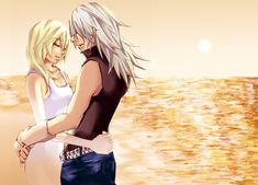 riku x naminé Kingdom Hearts Namine, Kingdom Hearts Art, Dragon Age Series, Saeran, Mystic Messenger, Indie Games, Best Couple, Final Fantasy, Dreaming Of You