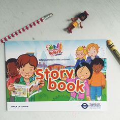 Continuing our look at the Children's Traffic Club London free membership pack. This week, the Children's Traffic Club London Story Book.