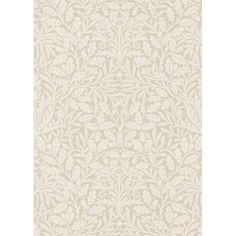 Morris & Co. Pure Acorn   Perigold Foyer Wallpaper, Print Wallpaper, Wallpaper Roll, Ivory Pearl, Acorn, How To Find Out, Pure Products, Artwork, Prints