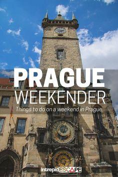 Prague Weekender - Intrepid Escape